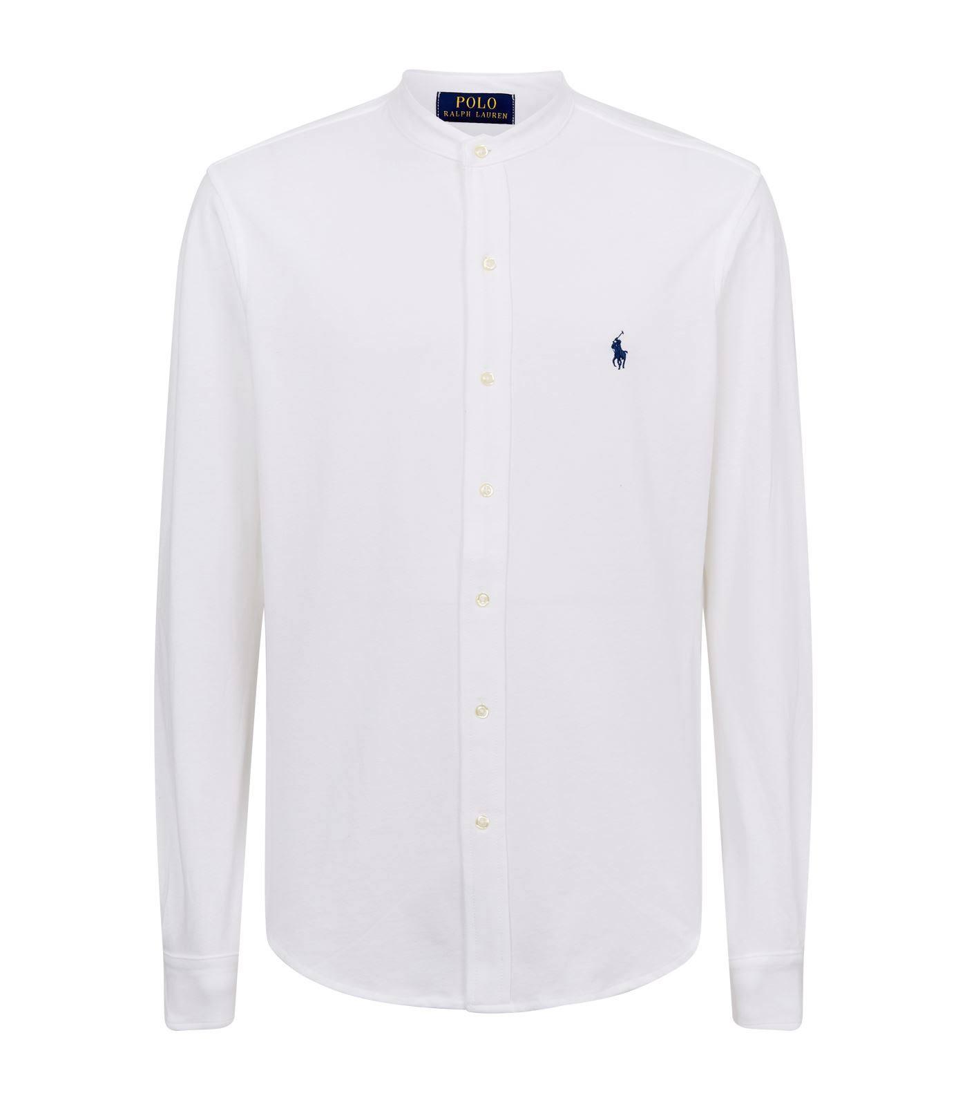 Polo Mercerisierter Regular Ralph Aus fit Hemd Baumwolle Lauren nYqrFO1Y