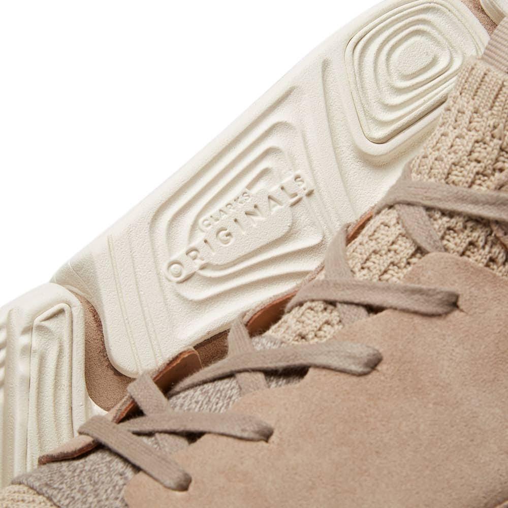 Knit Originals Trigenic Evo Clarks ShoesSand gYfb76y