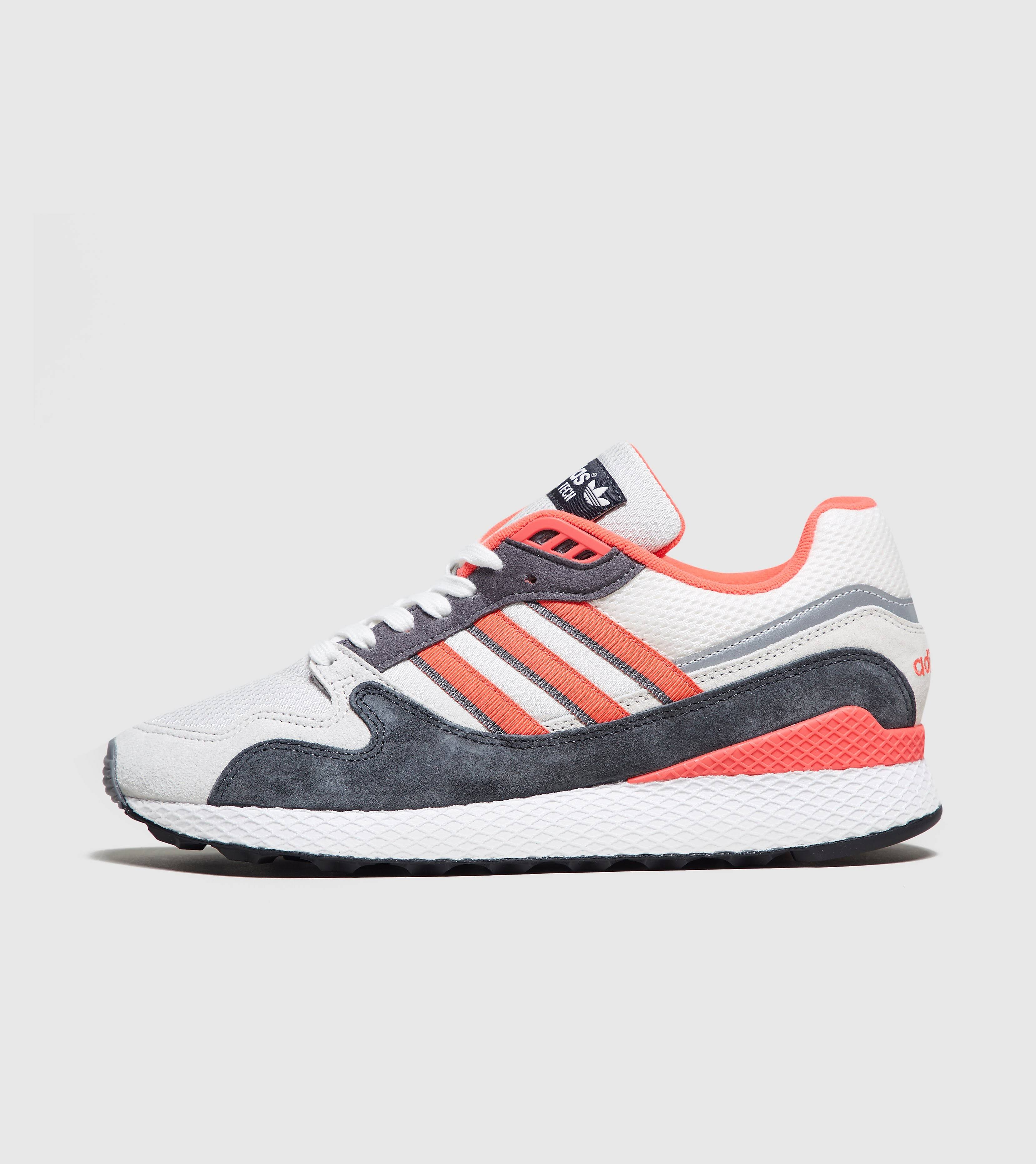 Adidas Ultra Tech White, Shock Red & Grey