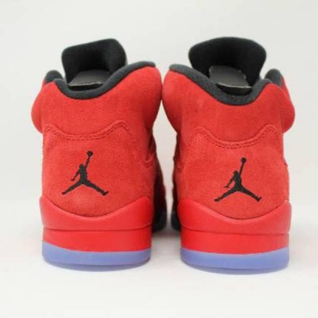 5 Red Basketball Schuhe Retro Jungen Jordan University Schule Grad A1nRFf