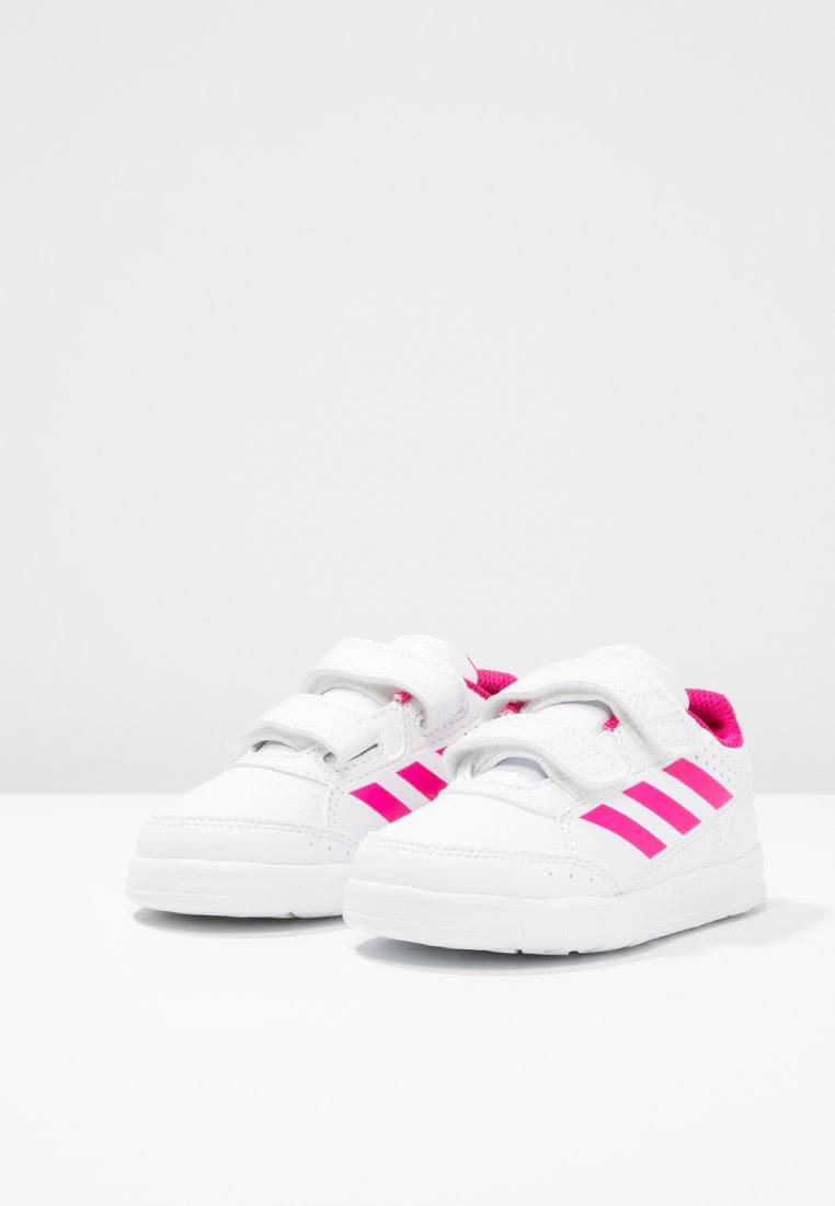 Performance Adidas Buty Cf 21 Altasport Ftwwht I ftwwht bopink Biały Dziecięce Ba9515 rraqd