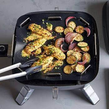 Pampered Chef Grill Mat & Tray