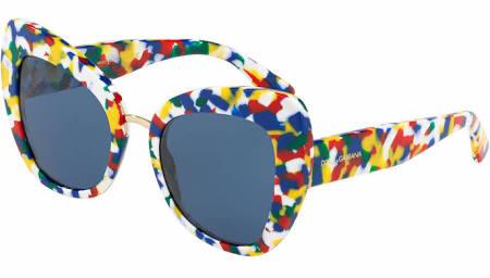 140 Blue multicolor 51 Cube Dg4319 Gabbana Sonnenbrille Dolce amp; 22 317672 xZnBvg