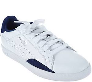 Azules Talla 1 Zapatillas 5 Cuero Mediana Profundidades Cordones Puma De 2 Y Partido Con Gamuza SSv8q6w