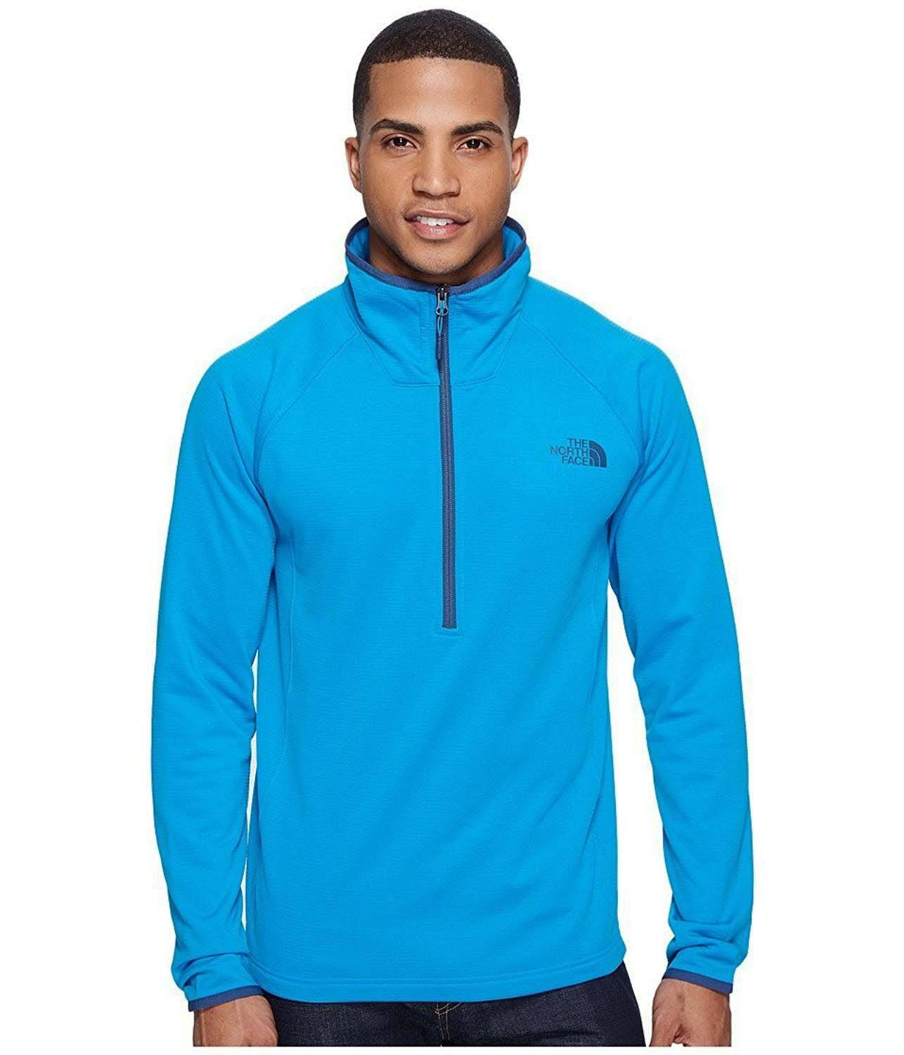 Borod Blue North temporada Anterior 14zip Hyper Face Mens Fleece The aSRqUxq