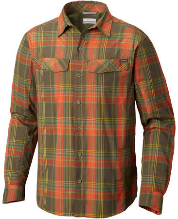 Sunset Silver L Backcountry Orange S Ripstop Ridge Columbia Plaid XHfPH