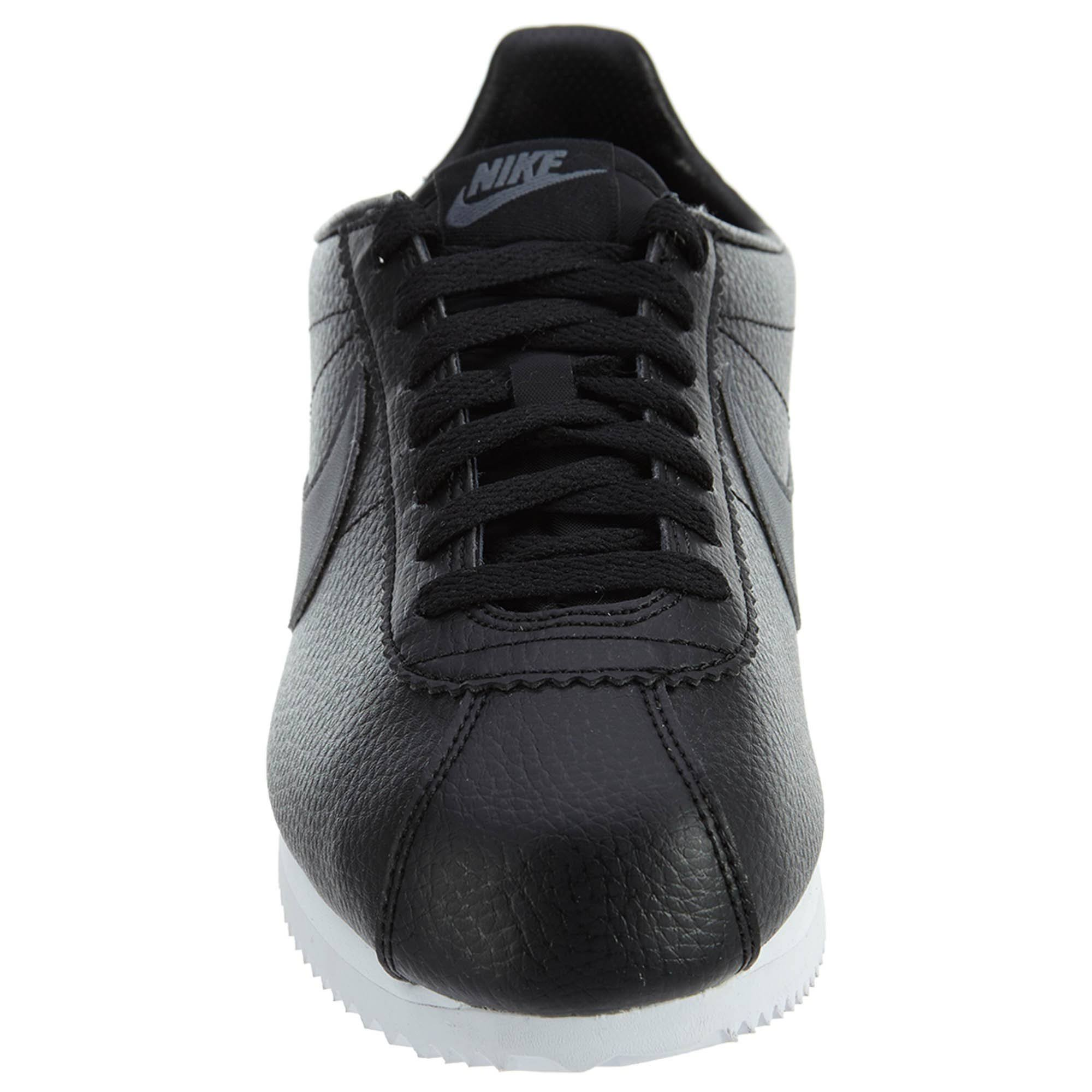 8 Gris Oscuro 749571 011 Leather Cortez Nike Tamaño blanco Classic Negro Hombre fq0xCwWUz