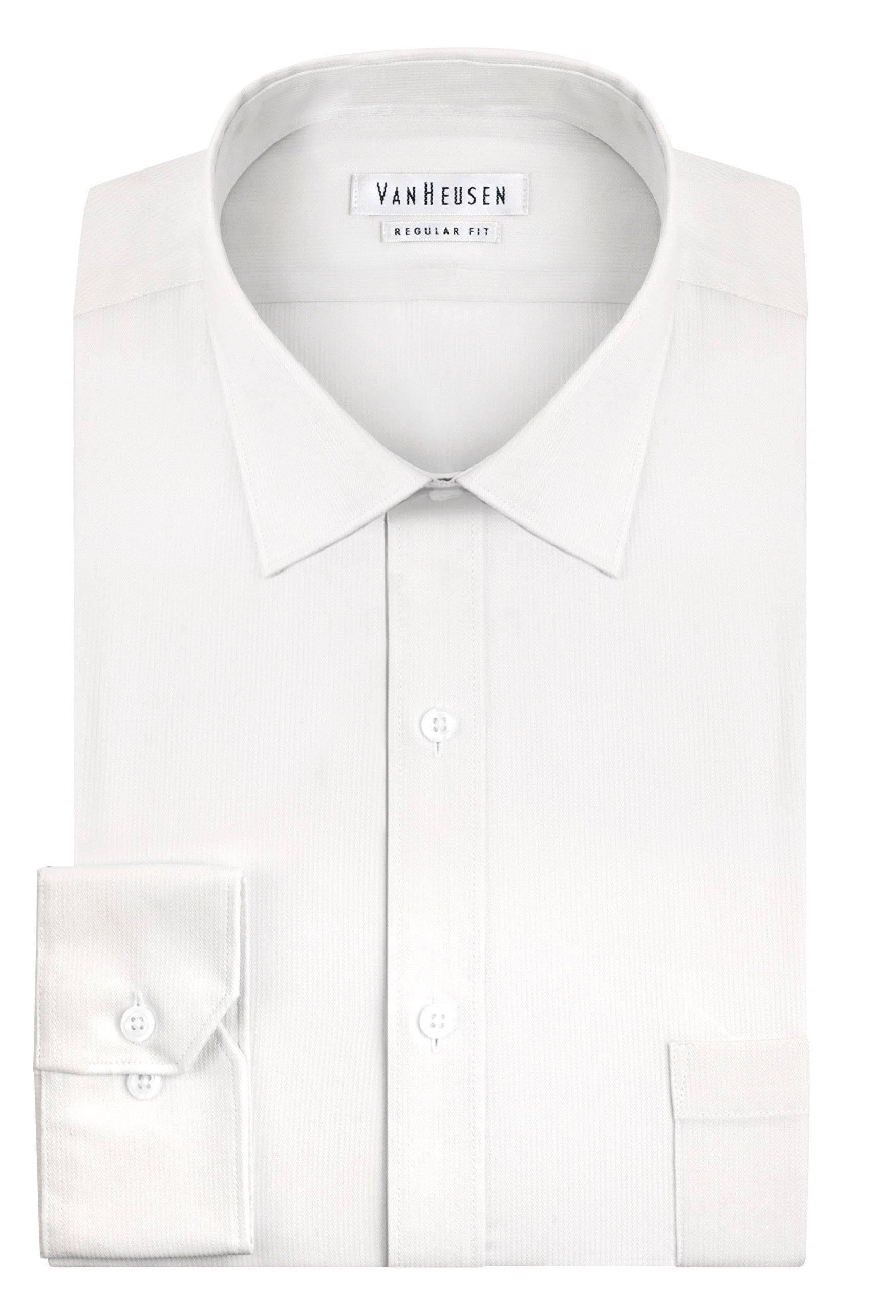 Y Van Heusen Vestir Camisa Hombre Con De En Para Pincord Botones 04OI6wOq