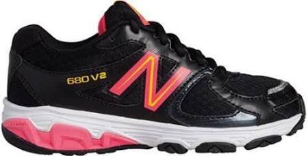 キッズシューズ black ニューバランス 17 Kj680bpy running pink Black Newbalance 0 g4Ytxqgn