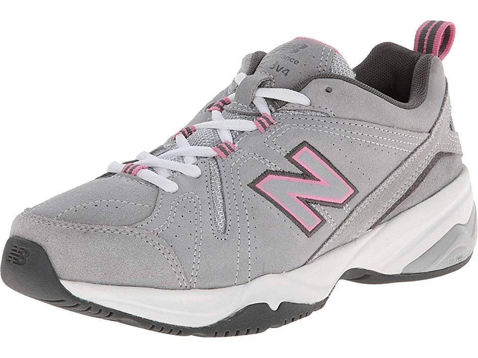 608v4 6 Suede New Balance Pink A2 5 Womens Grey Training 5UnUvxB