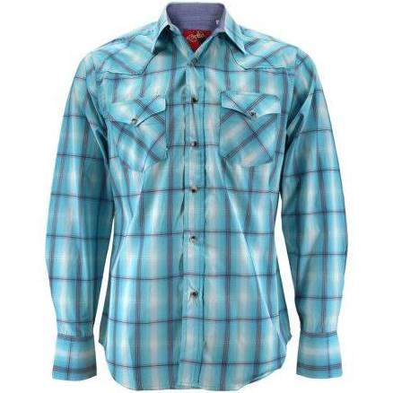 Larga Premium Presión De Manga Rodeo Western Xl Hombre Pearl Camisa Cowboy 440 Cuadros A blanco ps400l Clothing pqR7gBF