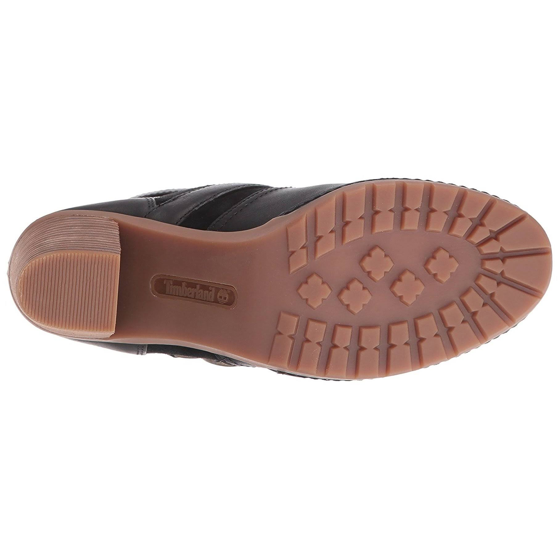 Schwarz 7 Ankle 5m 150 Größe Us Timberland Boots Dennett Damen Leder Orig tWWR8q