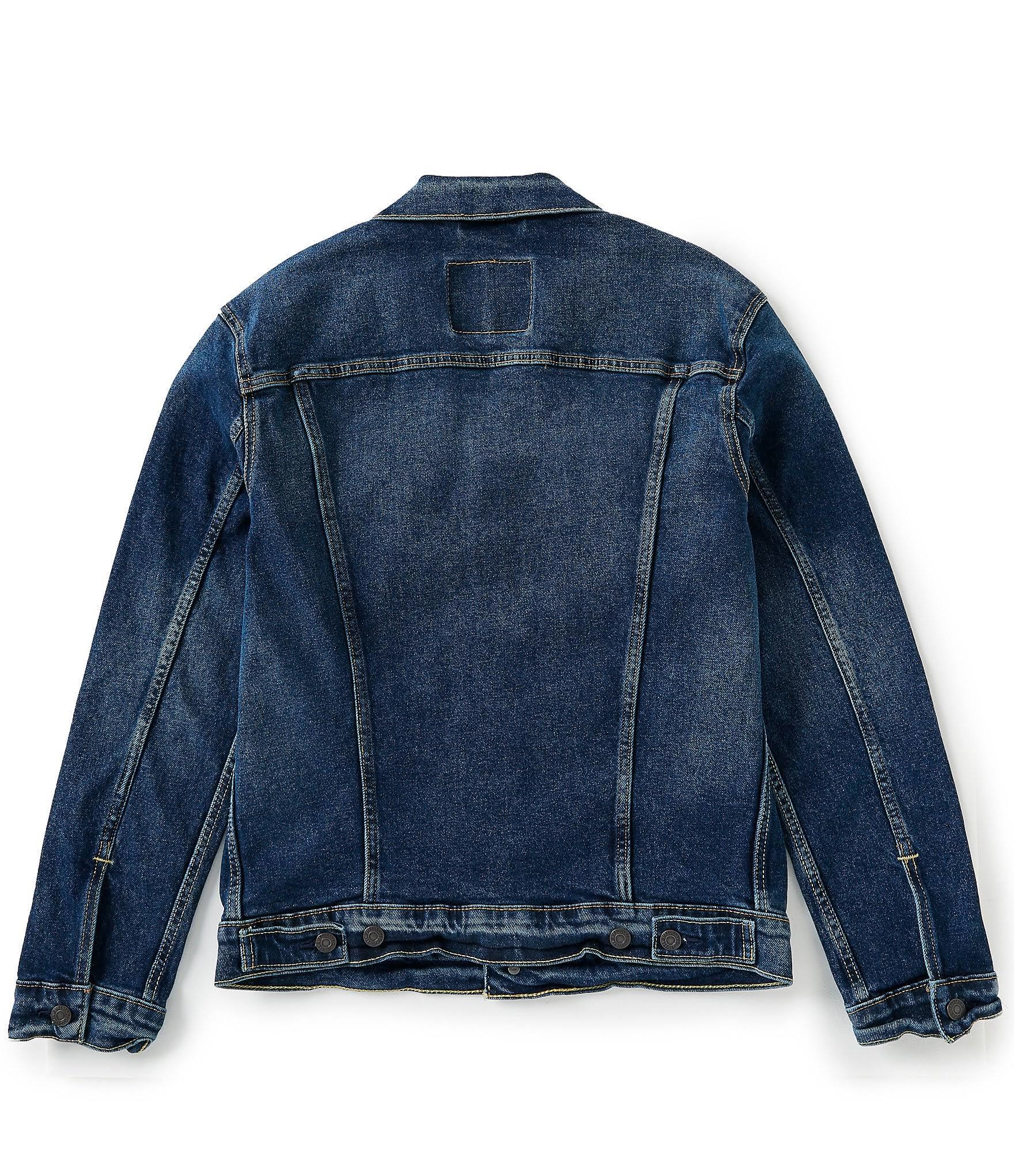 Regular Jacket Para Colusa Levi's 2xl Stretch Hombre Abrigo Trucker The De OCqYYv
