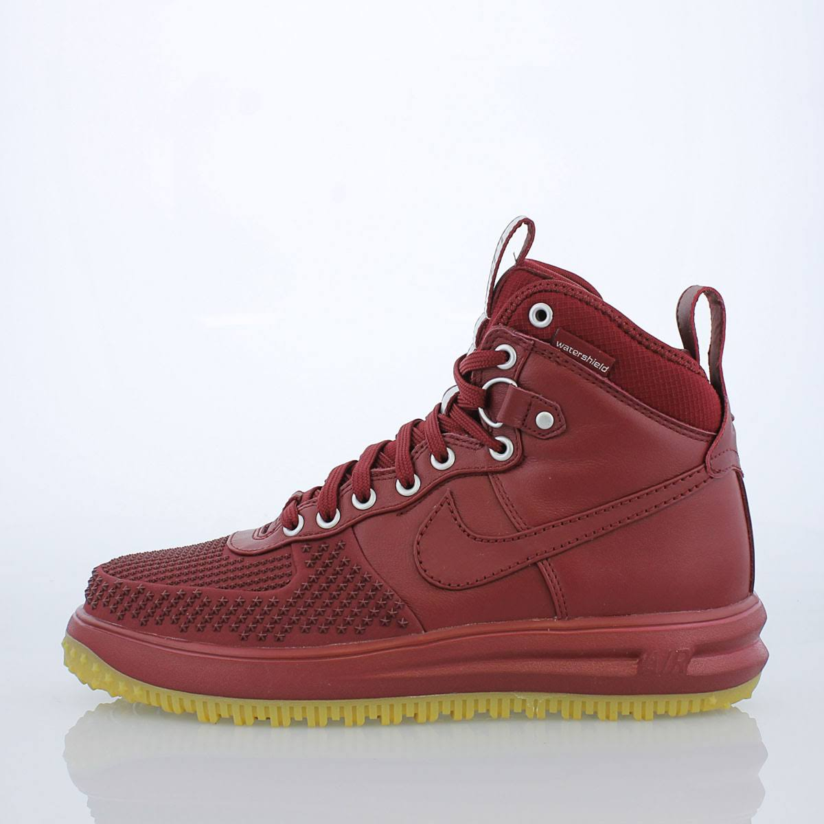 Nike Red Tamaño Duckboot Shoes 1 13 Force Lunar 805899 Gum Team 600 Men 0twqr0nP