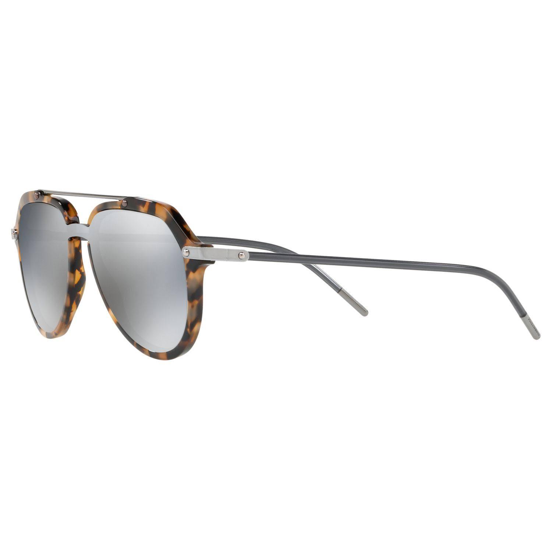 amp; Gabbana Dg4330 Dolce 6g 3141 Havanna Blue Grau silber Owxdqa5