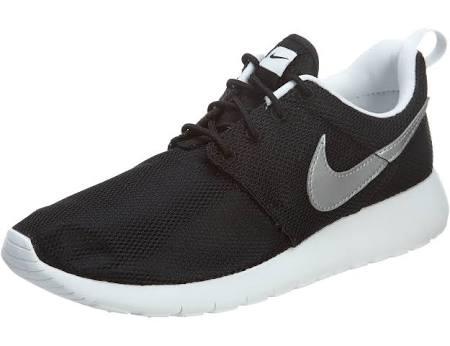 599728 021 Roshe Gs Metallic Schwarz Nike One Weiß Silber qpxwaWZ1g