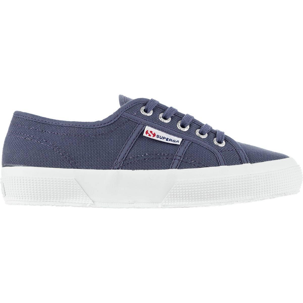 Azul 0 Cotu Sombra Clásico 2750 Superga Zapato Mujer 9 Para Blanco qXvw1PnFW