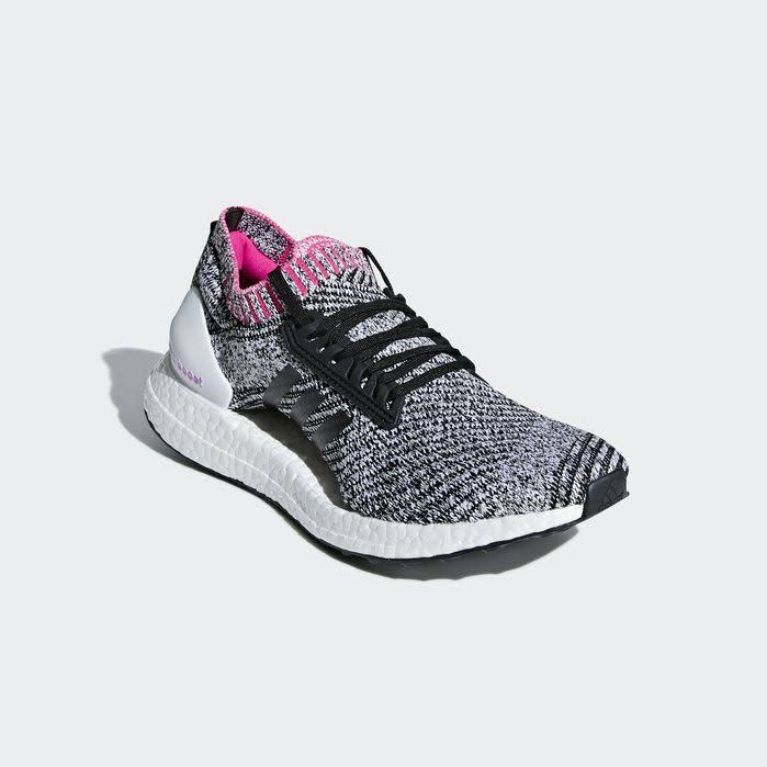 Pinkf18 Adidas Shoes 5 Shock Ultraboost Ftwr Black Core X Cloud White Running 5 Mujeres aafS41