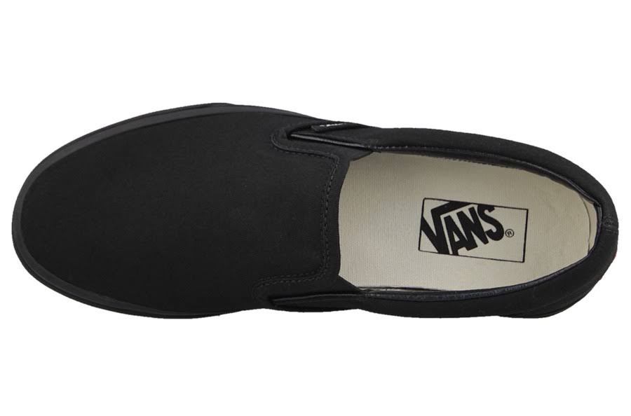 Slip Black black Ons Vans Black Classic ~ 8xZvq85