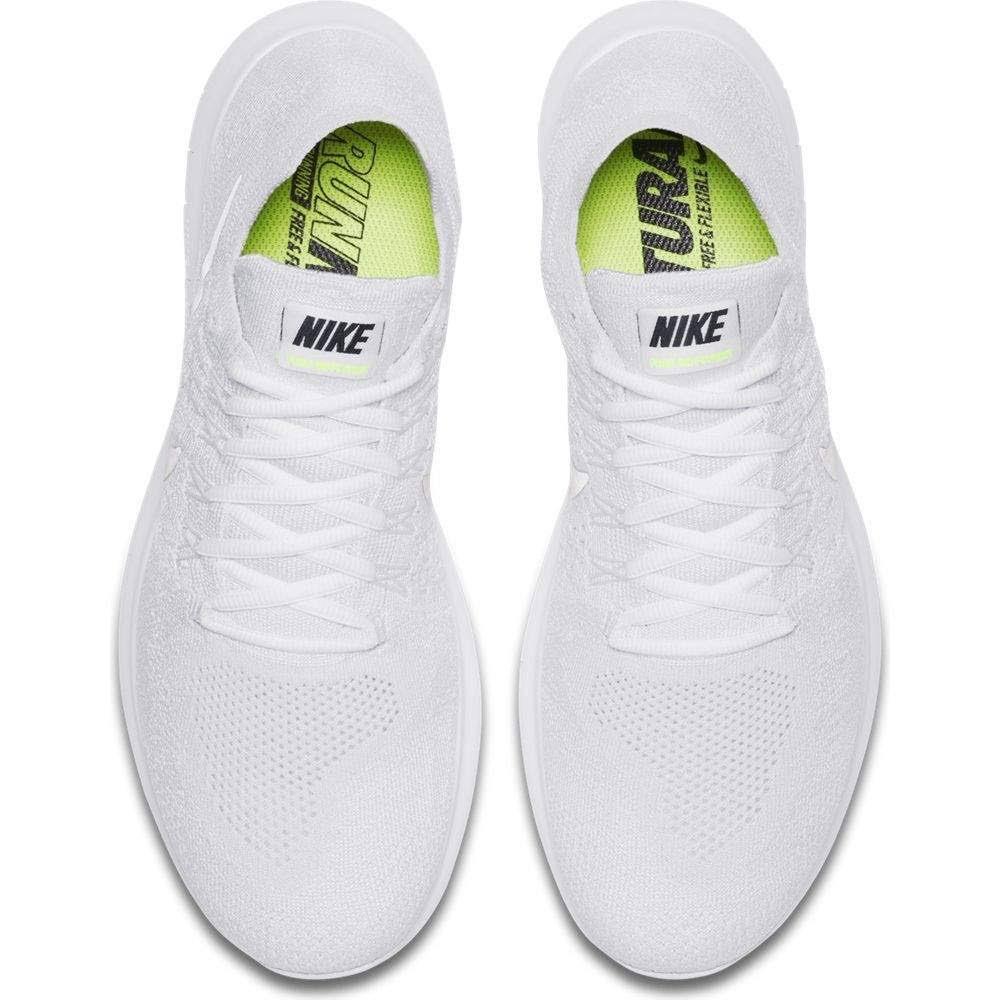 black Rn Eu 42 Weiß White 2017 Free Herren Traillaufschuhe 100 pure Flyknit Nike Platinum qFSvxEpw