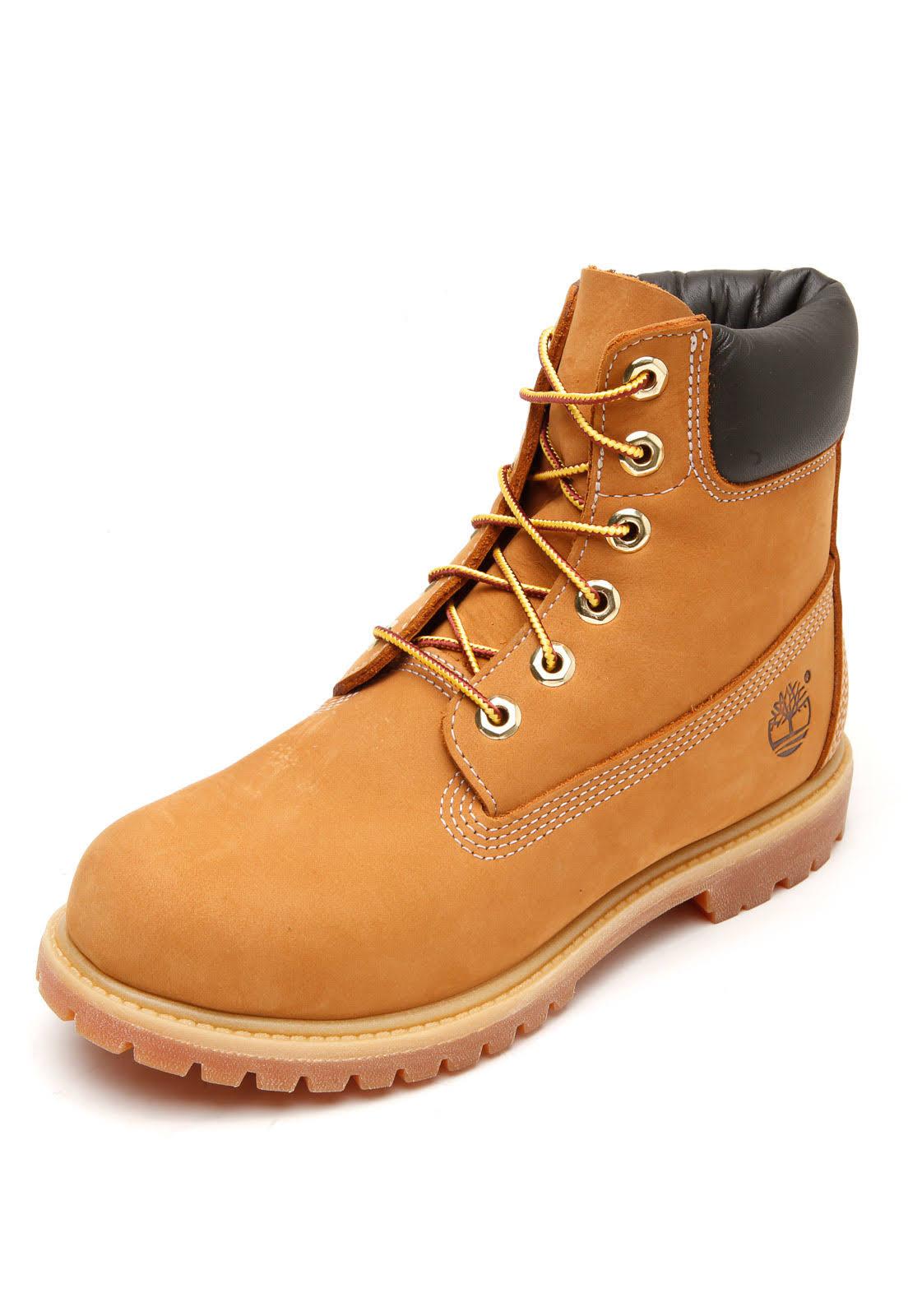 W 6 Timberland Yellow Feminino Bota Boot Premium qzVUMSp