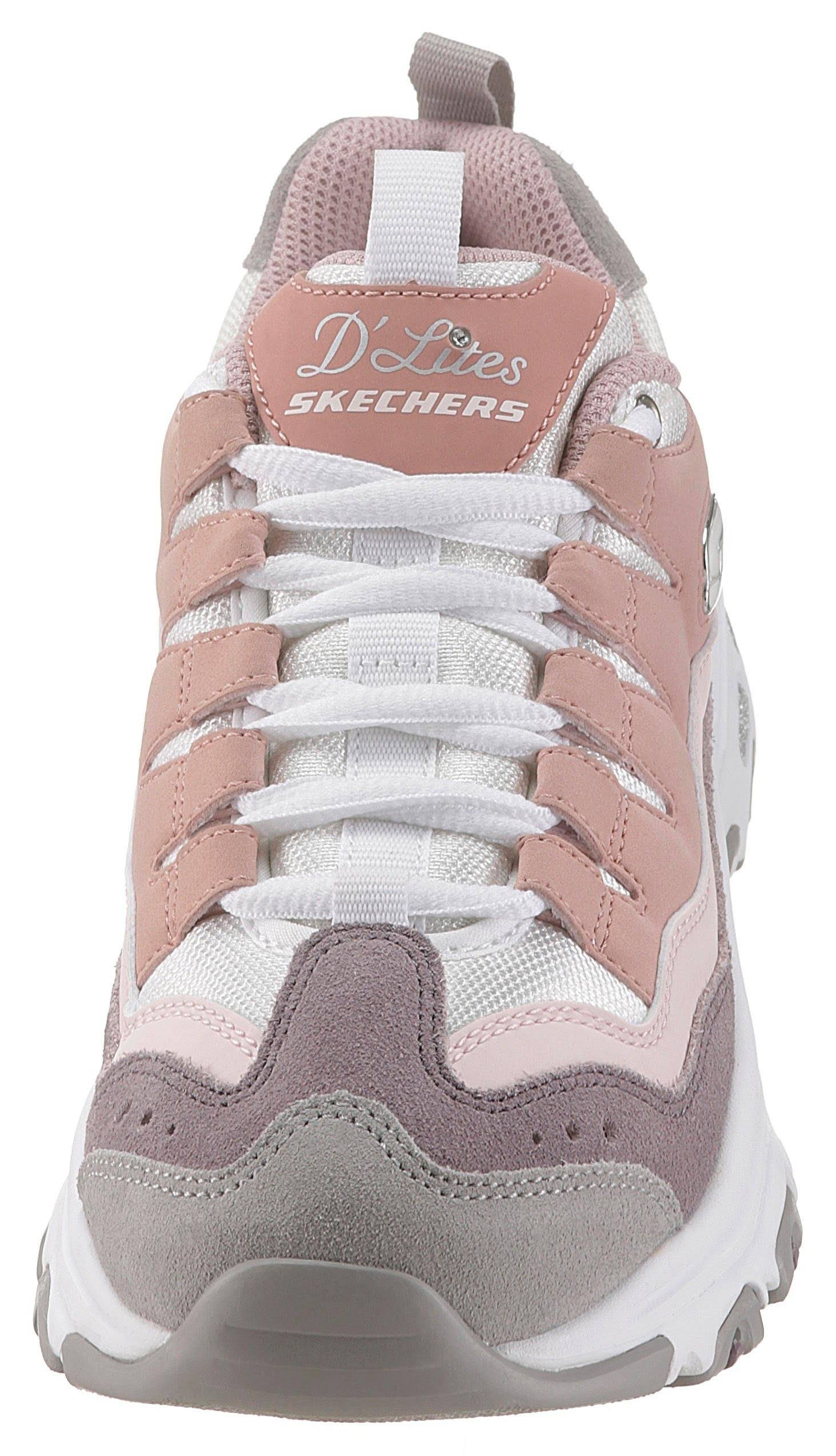 D Lites Skechers Sure Lage SneakersdamesRoze Thing S54RLqc3jA