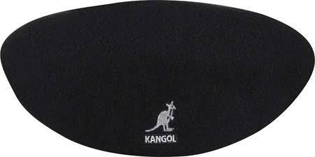 Plana Wool Negro Flan Kangol 504 Medio Sombrero De Gorra zXYw6PdAq6