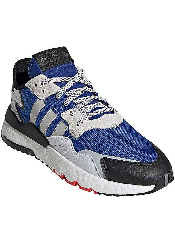 Adidas Originals 'Nite Jogger' Trainers - Blue/White - Size 6.5