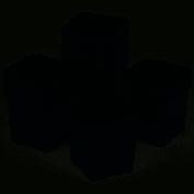 Godet pour semis 8 x 8 x 7 cm NOIR (x 50)