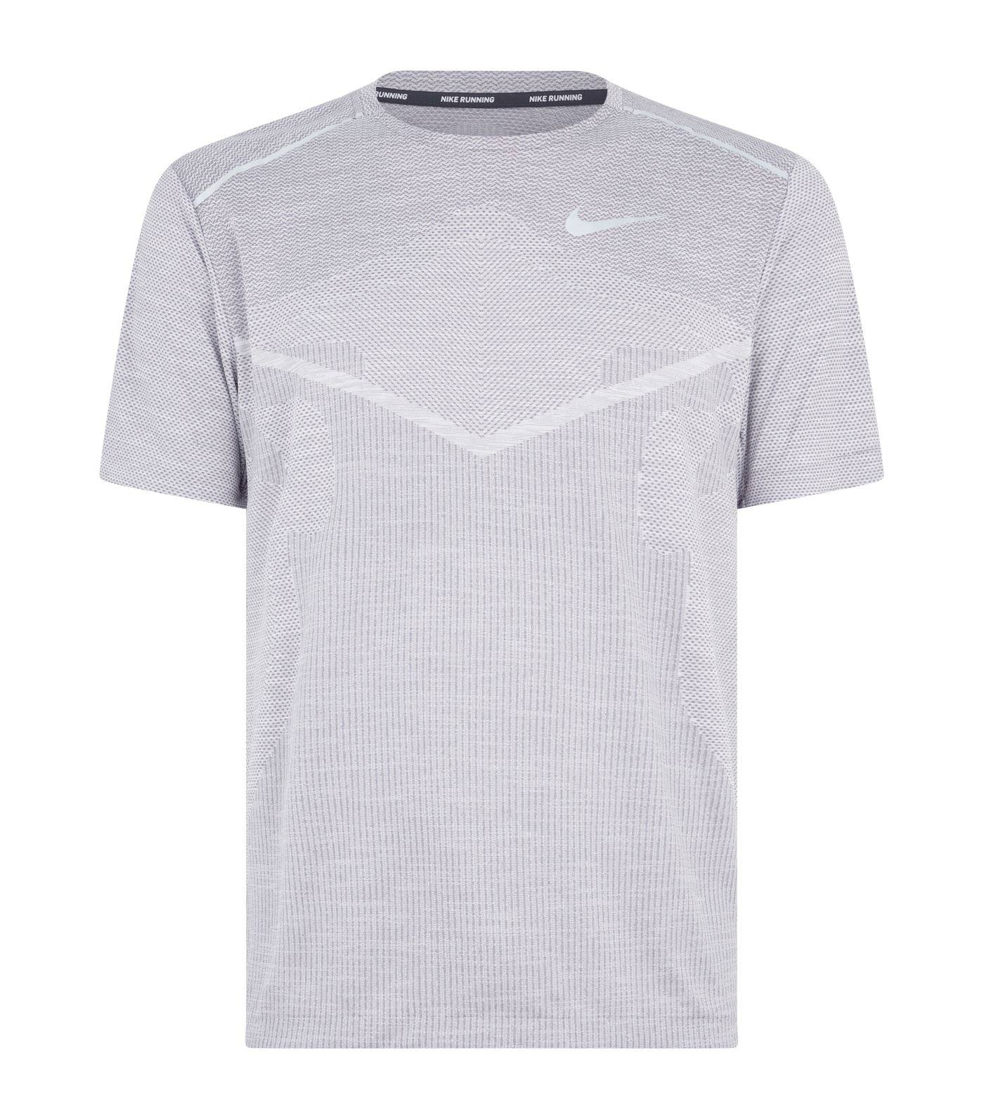 Hombre Cool Dark Ultra Nike Techknit grey Camiseta xIqP0z