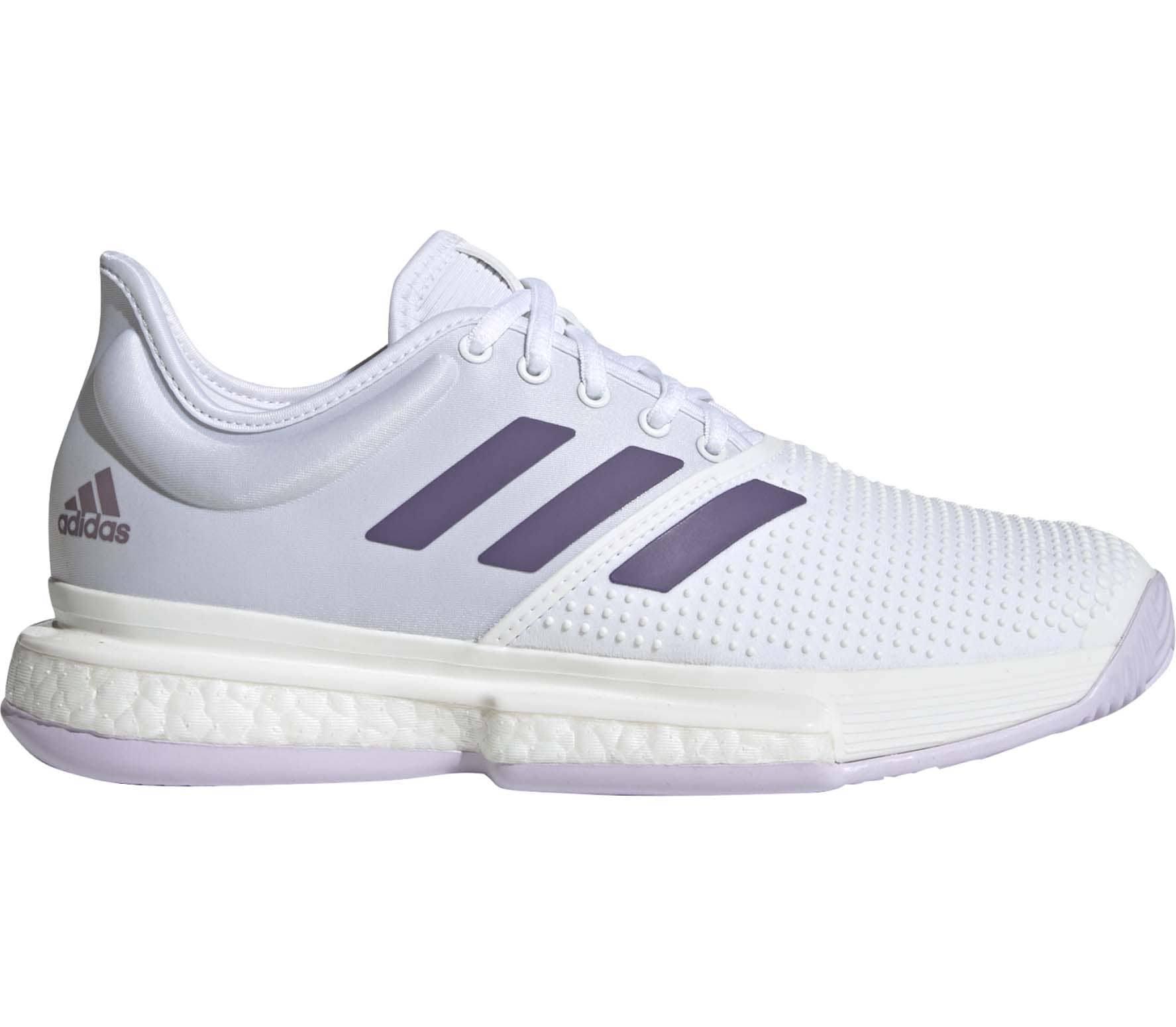Adidas SoleCourt Women Tennis Shoes White