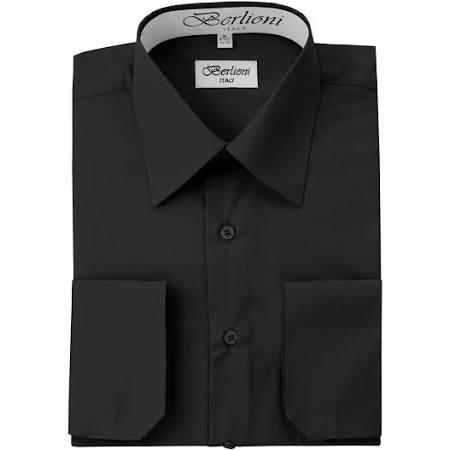 Camisa Manguito Convertible No Francés De Vestir Los Todos Iron Colores Xl Black Para Hombre Iq1IrwH