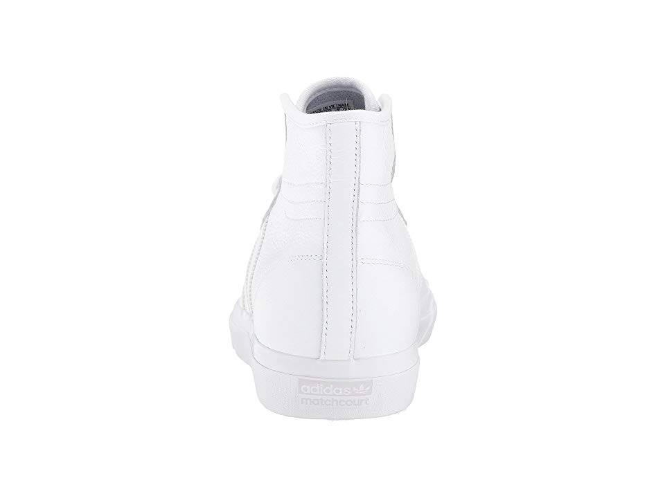 100 Adidas Hombre High Tamaño 4 Matchcourt Rx Blanco q0xRp0