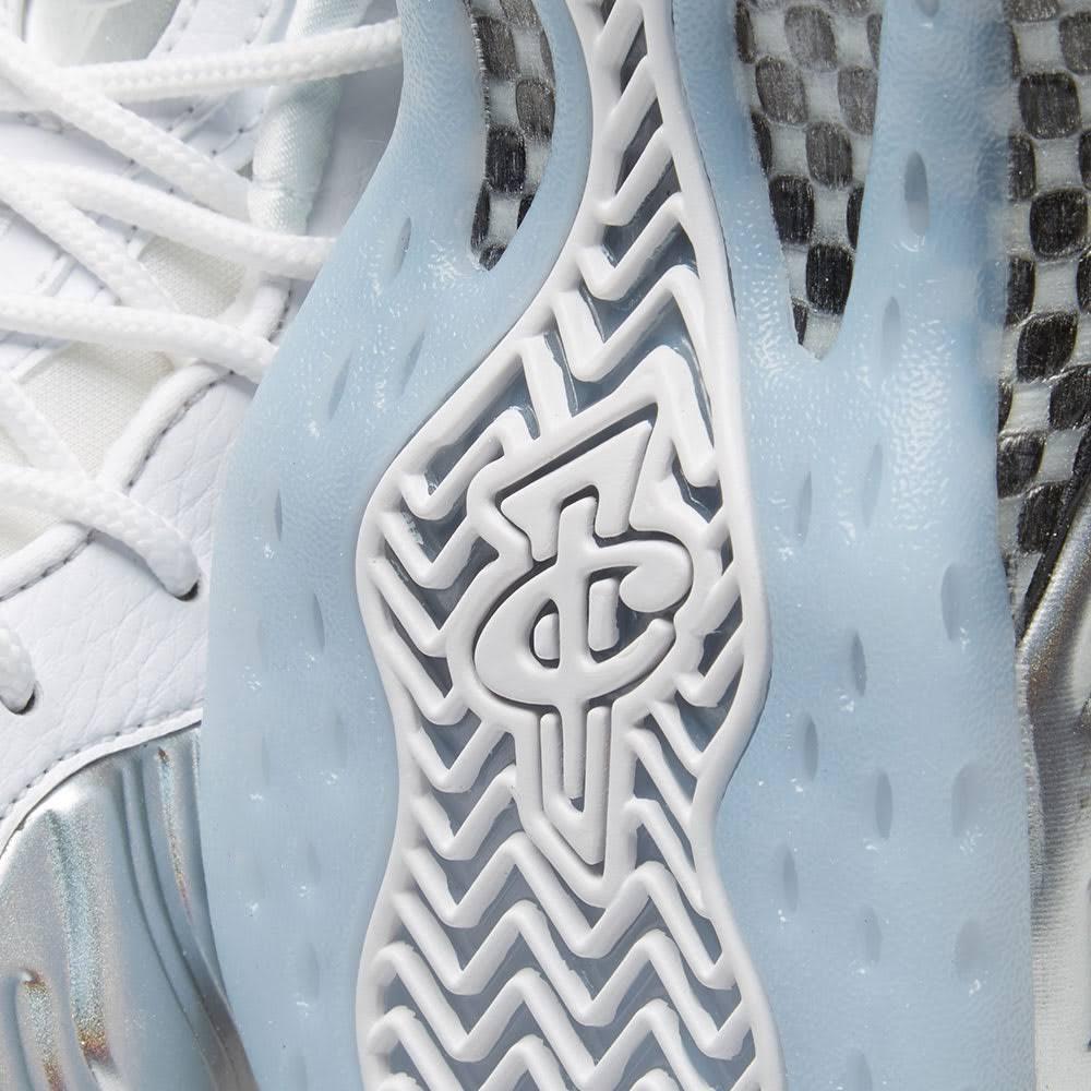 Nike Air Foamposite One Chrome White (w)