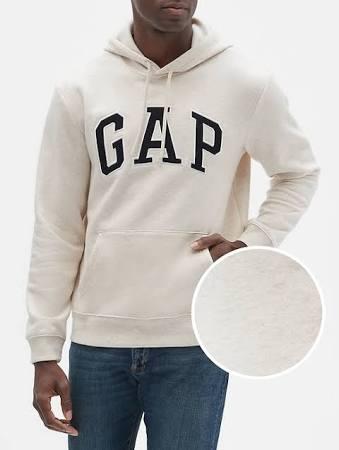 M Talla Brezo Con Polar Harina Capucha Para De Hombre Logo Avena Gap Sudadera Factory RwOqHR7A