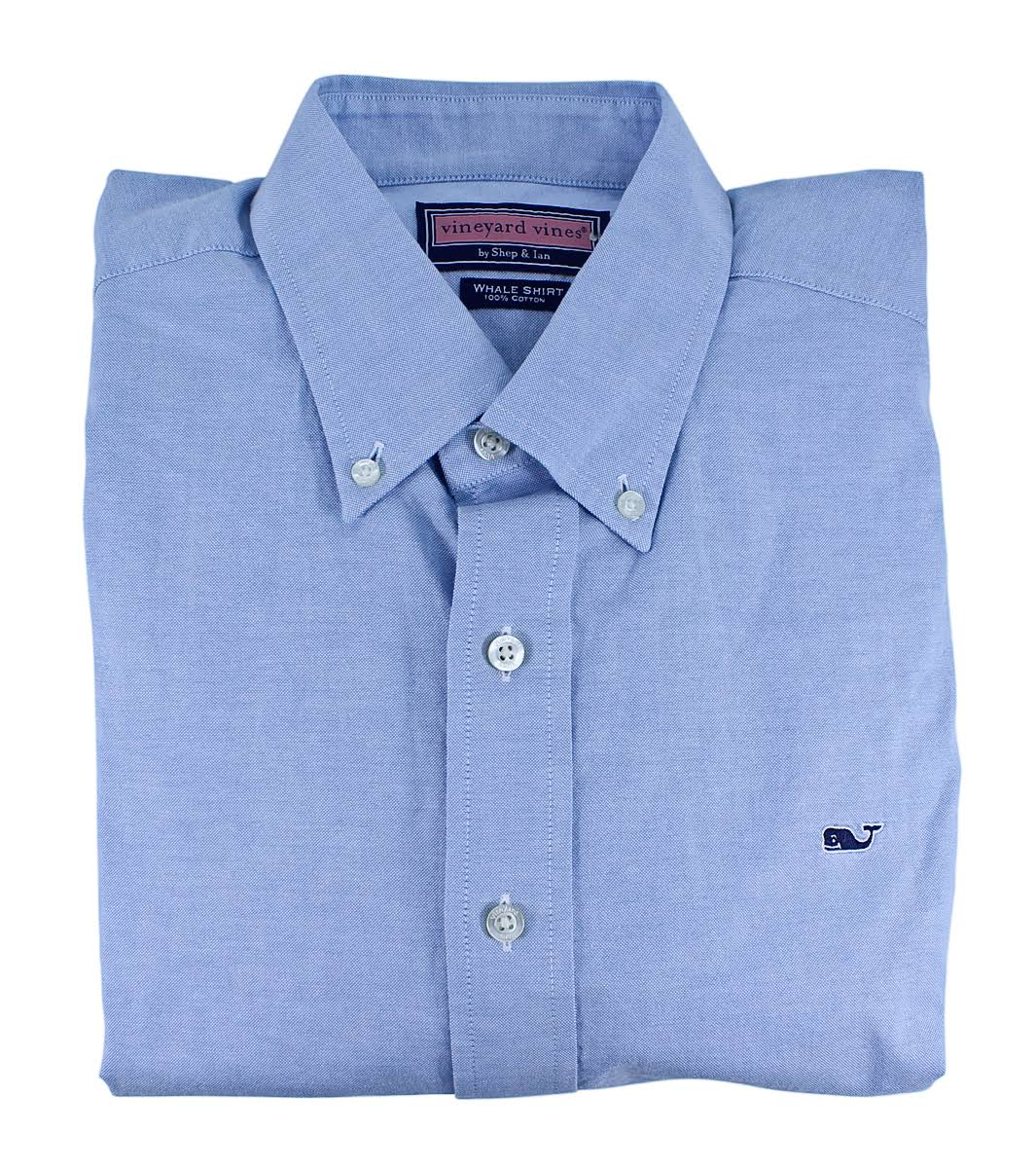 Vines Vineyard Coastline hemd Mens Oxford whale Solid Baumwoll Blue ZqwdORq