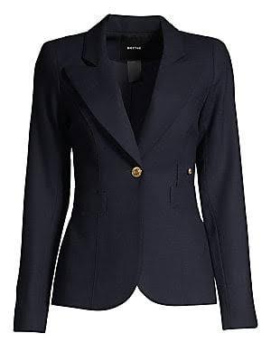 Blazer Duchess Damen Smythe 14 Größe Wool Navy AFSSqw