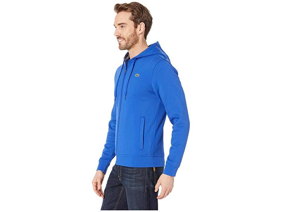Lacoste Sport Herren S Zip Blue Full Hoodie BwFPawv0qx