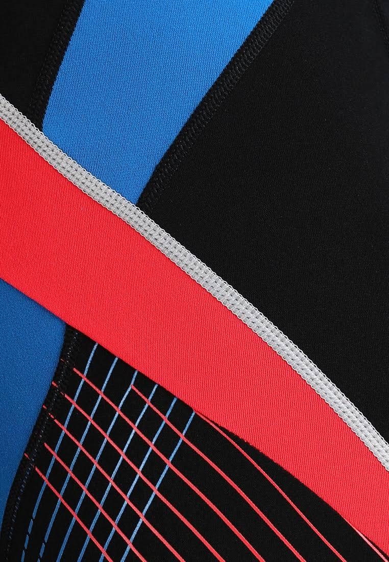 Speedo Fit Splice Jammer - Black/Red