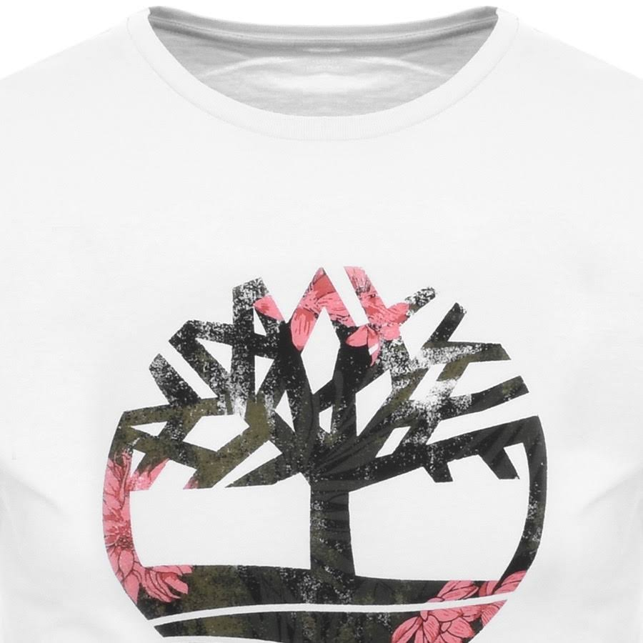 Temporada River Blanco Manga De Kennebec Camiseta Timberland Corta tTqUwS