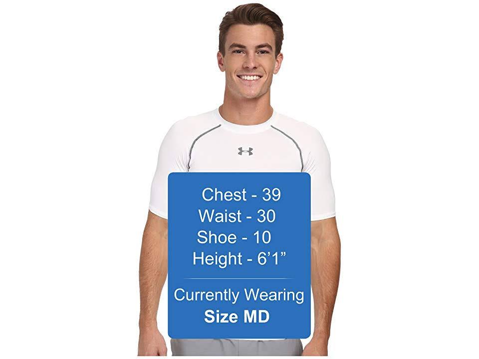 1257468 Hombre Xxl Camiseta Blanco Under Heatgear Armour Para Gris Regular Talla XzzCxqwO5r