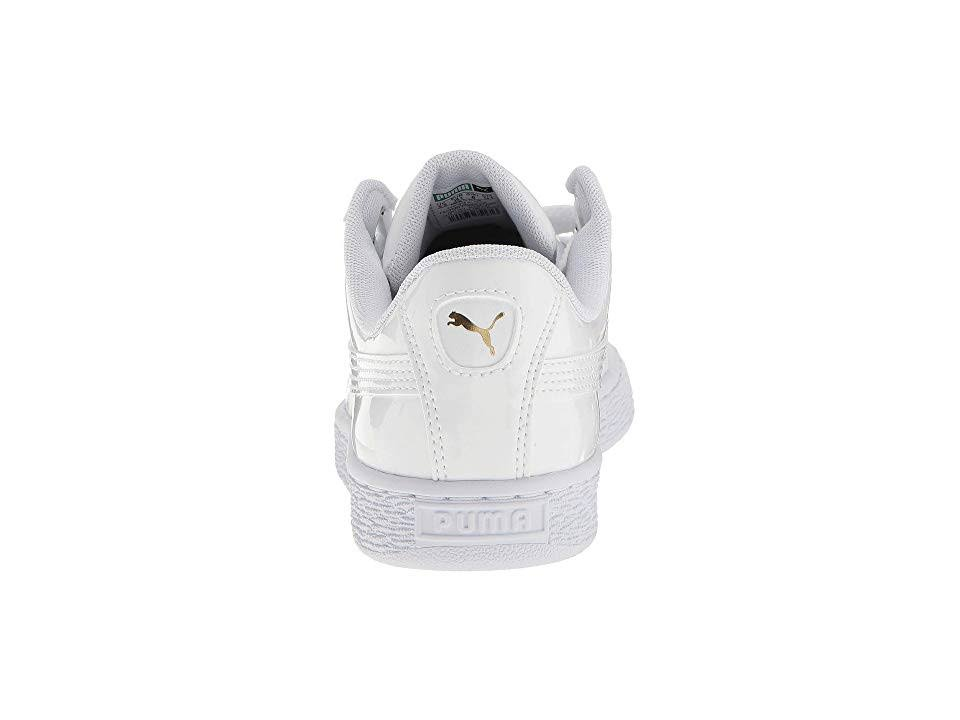 weiß Puma patent 5 Retro Heart Basket Größe Schuhe 6 wrOaXr4q