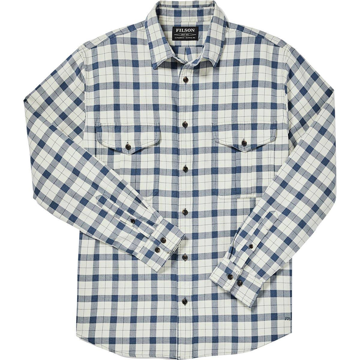 De Guía Ligera Filson Camisa Blue Natural Xxl Para Hombre Alaska Heather SdxZCnwq