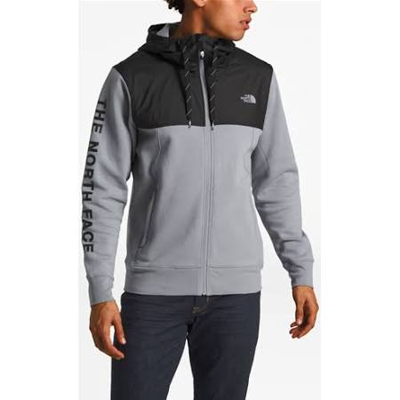 N Gris Medio The Hombres Chaqueta North Para De Face Grande Y Superpuesta Color Logo Train P44atwq