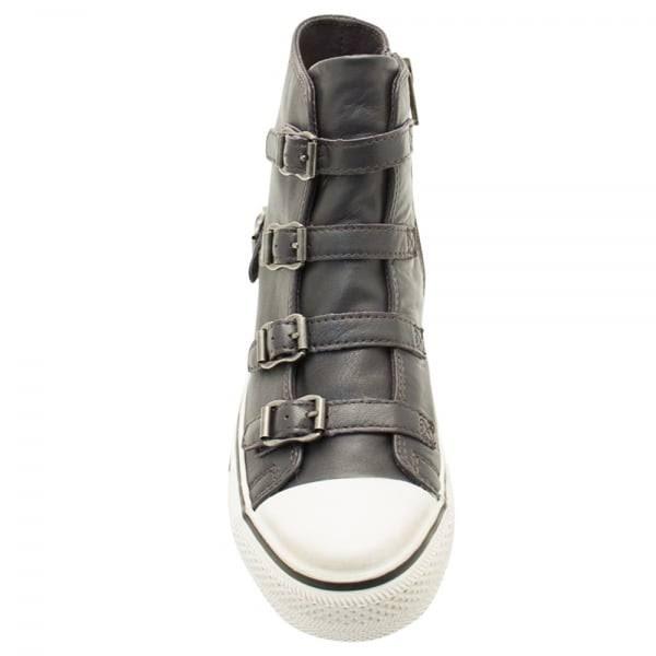 cenere in donna pelle per color scarpe ginnastica Grafite da YE2IH9WD