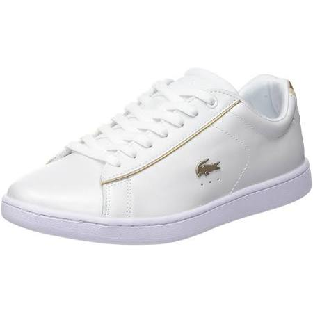 8women 6 118 Carnaby Lacoste Evo 35spw0013 Leather Gold White Women qwZ8TPnC8