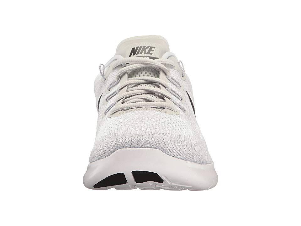 2017 Laufschuhe Weiß 880839101 Reines Nike Schwarz Free Platin Herren 11 Größe Rn AZwxI1E