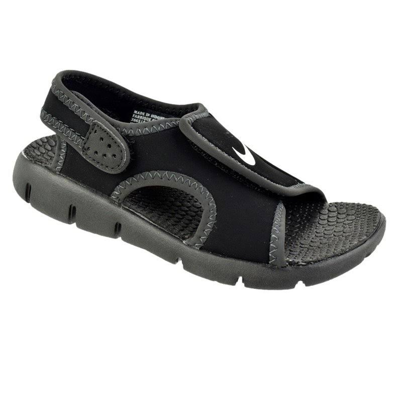 Infantil Sandália Nike Pto Preto Papete Menino A4 Sunray 386519011 vxZqREw6