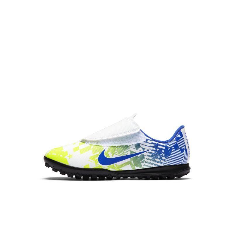 Nike Jr. Mercurial Vapor 13 Club Neymar Jr. TF Younger Kids' Artificial-Turf Football Shoe - White