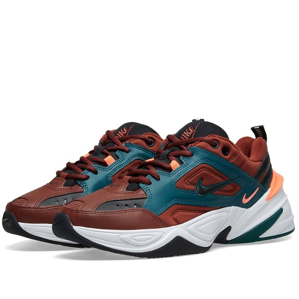 Nike M2k Tekno Black Pueblo 6 Trainer Size Brown qqvrd